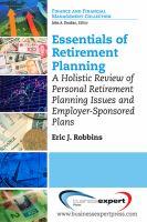 Essentials of Retirement Planning