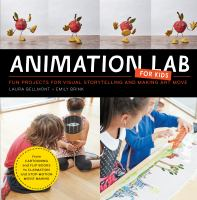 """Animation Lab for Kids"" book cover"