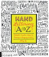 Hand Lettering From A to Z