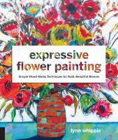 Image: Expressive Flower Painting