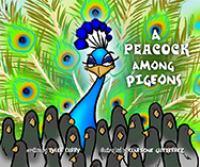 Peacock Among Pigeons