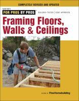 Framing Floors, Walls & Ceilings