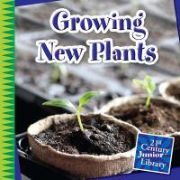 Growing New Plants