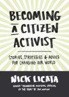 Becoming A Citizen Activist