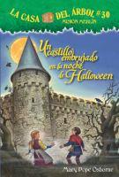 Un castillo embrujado en la noche de Halloween