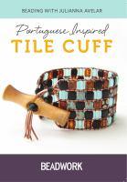 Portuguese Inspired Tile Cuff