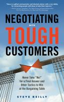 Negotiating With Tough Customers