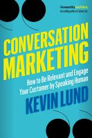 Conversation Marketing