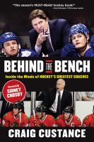 Behind the Bench