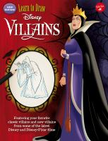 Learn to draw Disney villains.