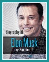 Biografia de elon musk