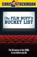 The Film Buff's Bucket List
