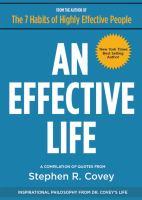 An Effective Life