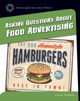 Asking Questions About Food Advertising