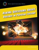 Asking Questions About Violence in Popular Culture