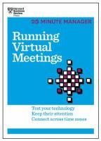 Running Virtual Meetings