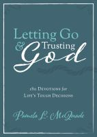 Letting Go and Trusting God
