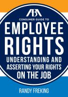 ABA Consumer Guide to Employee Rights