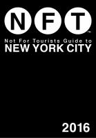 Not for Tourists Guide to New York City, 2016