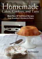 Homemade Cakes, Cookies, and Tarts