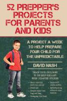 52 Prepper's Projects for Parents and Kids