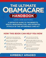 The Ultimate Obamacare Handbook