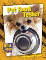 Pet Food Tester