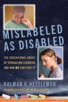 Misabled as Disabled