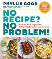 No Recipe? No Problem!