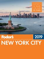 Fodor's 2019 New York City
