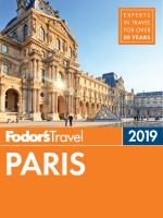 Fodor's 2019 Paris