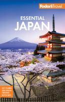 Fodor's essential Japan.