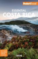 Fodor's 2020 Essential Costa Rica