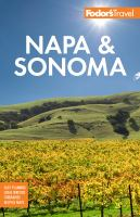 Fodor's Napa and Sonoma