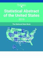 ProQuest Statistical Abstract of the United States 2019