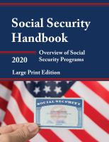 Social Security Handbook 2020