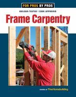 Frame Carpentry