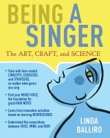 Being a singer : the art, craft, and science