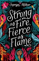 Cover of Strong as Fire, Fierce as