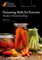 Pioneering Skills for Everyone: Modern Homesteading (DVD)