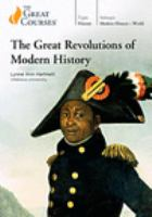 The Great Revolutions of Modern History