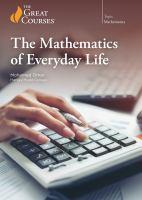 The Mathematics of Everyday Life