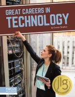 GREAT CAREERS IN TECHNOLOGY
