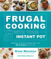 Frugal Cooking With your Instant Pot