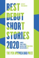 Best Debut Short Stories 2020