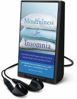 Mindfulness for Insomnia