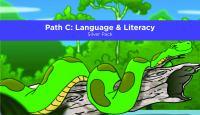 Pre-K Academy. Path C: Language & Literacy. Silver Pack