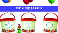 Pre-K Academy. Path B: Math & Science. Violet Pack
