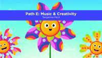 Pre-K Academy. Path E: Music & Creativity. Tangerine Pack