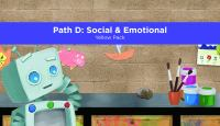 Pre-K Academy. Path D: Social & Emotional. Yellow Pack
